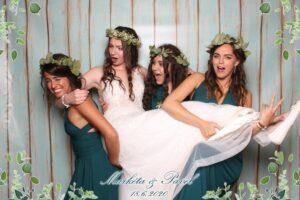 Zábavný fotokoutek na svatbu - Fotící bedýnka